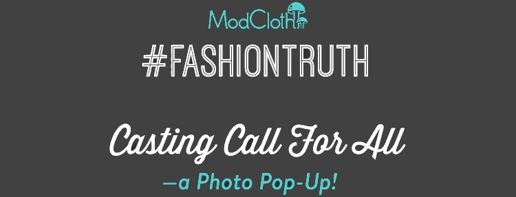 ModCloth NYC Open Casting Call 2014